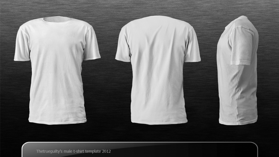 MALE T-SHIRT TEMPLATE