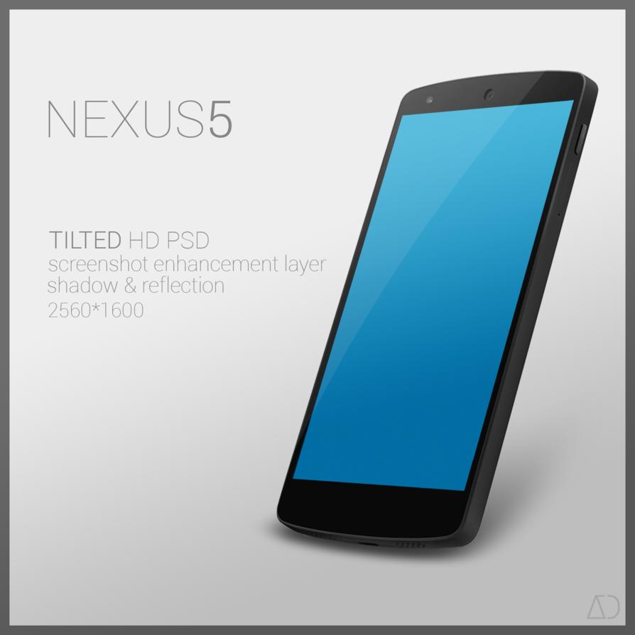 Nexus 5 PSD [TILTED]
