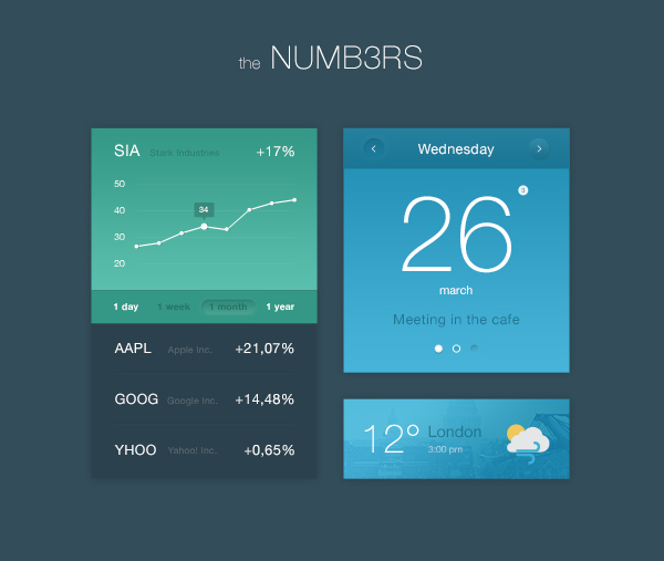 Numbers UI Kit