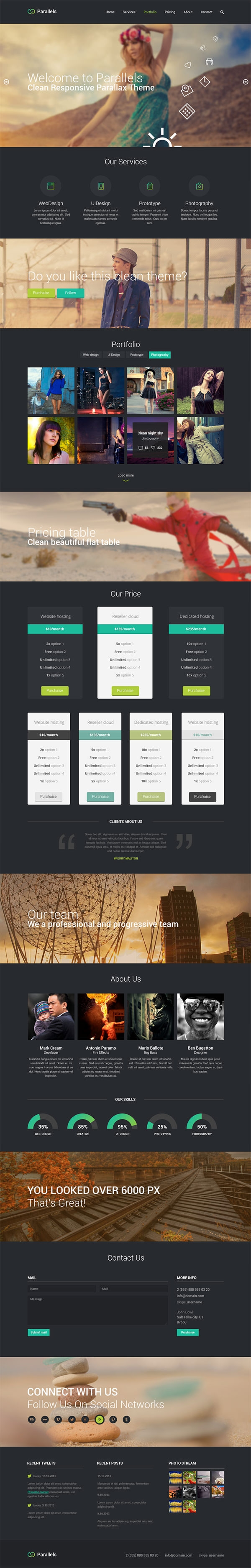 Parallels-–-PSD-Responsive-Template