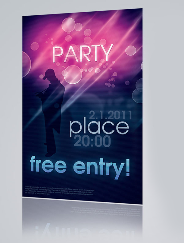 Party-Flyer-PSD