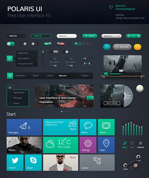 Polaris-UI-Free-Preview-Full