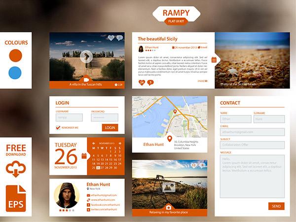 Rampy-Flat-UI-Kit-1