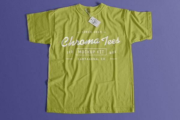 Realistic tshirt-mockup