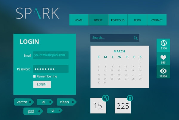 Spark-UI-Kit-Preview