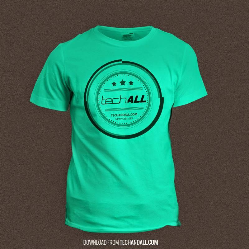 T-Shirt Mockup PSD File