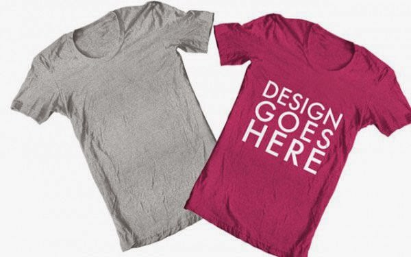 T-shirt Template Photoshop