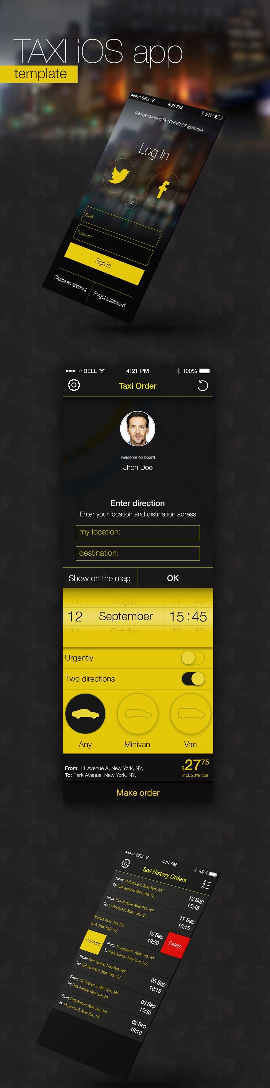 Taxi-IOS-App-Template