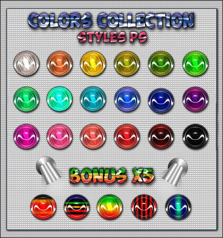 colors collection ps styles