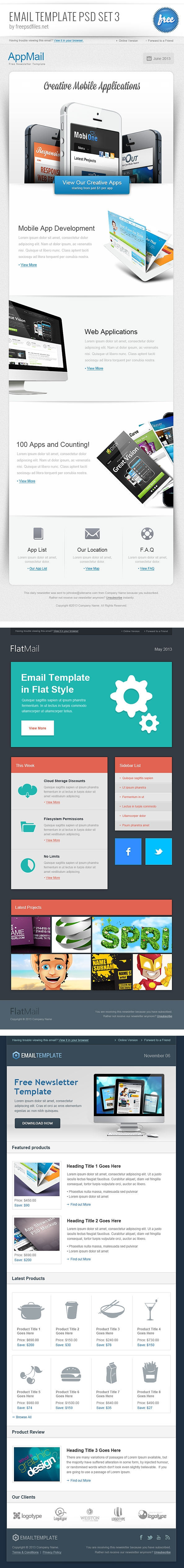 email-template-psd-set-3-