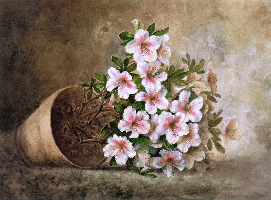 35 Awesome Flowers Painting Free Premium Creatives
