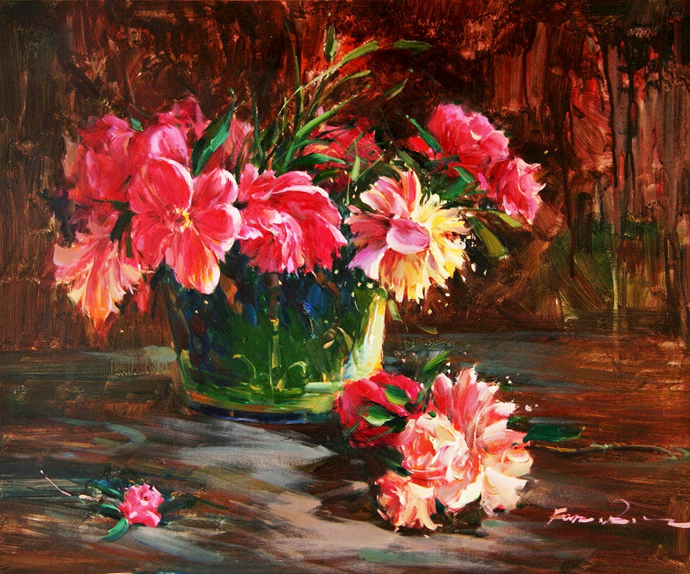 Nature-Flowers-Painting