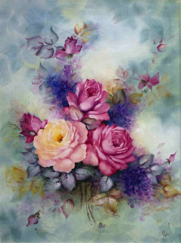 Water Color Flower Art