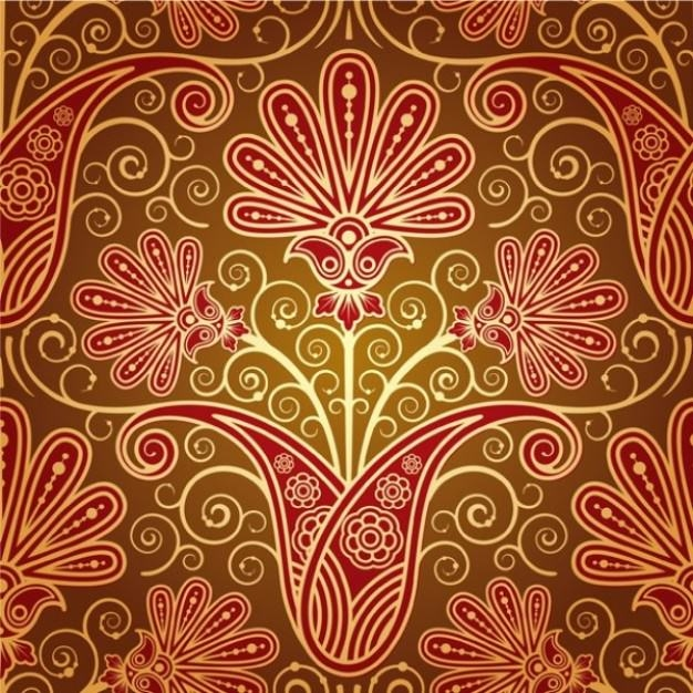 floral-pattern-design-wedding-card_