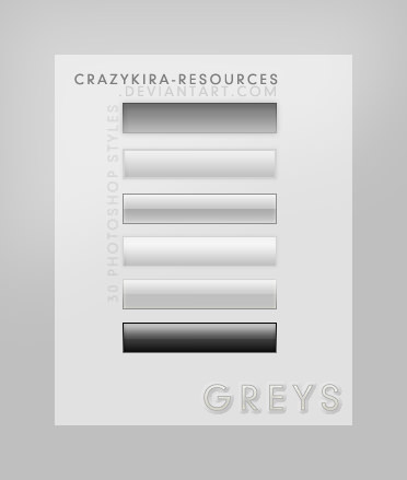 gray buttons style
