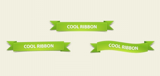 green pack ribbons