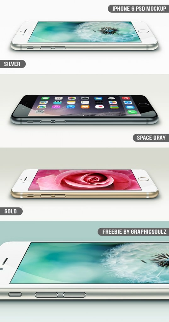 iPhone 6 PSD Mockup – Freebie
