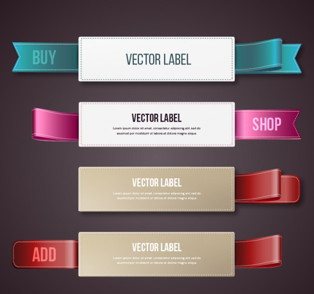 labels-with-ribbons