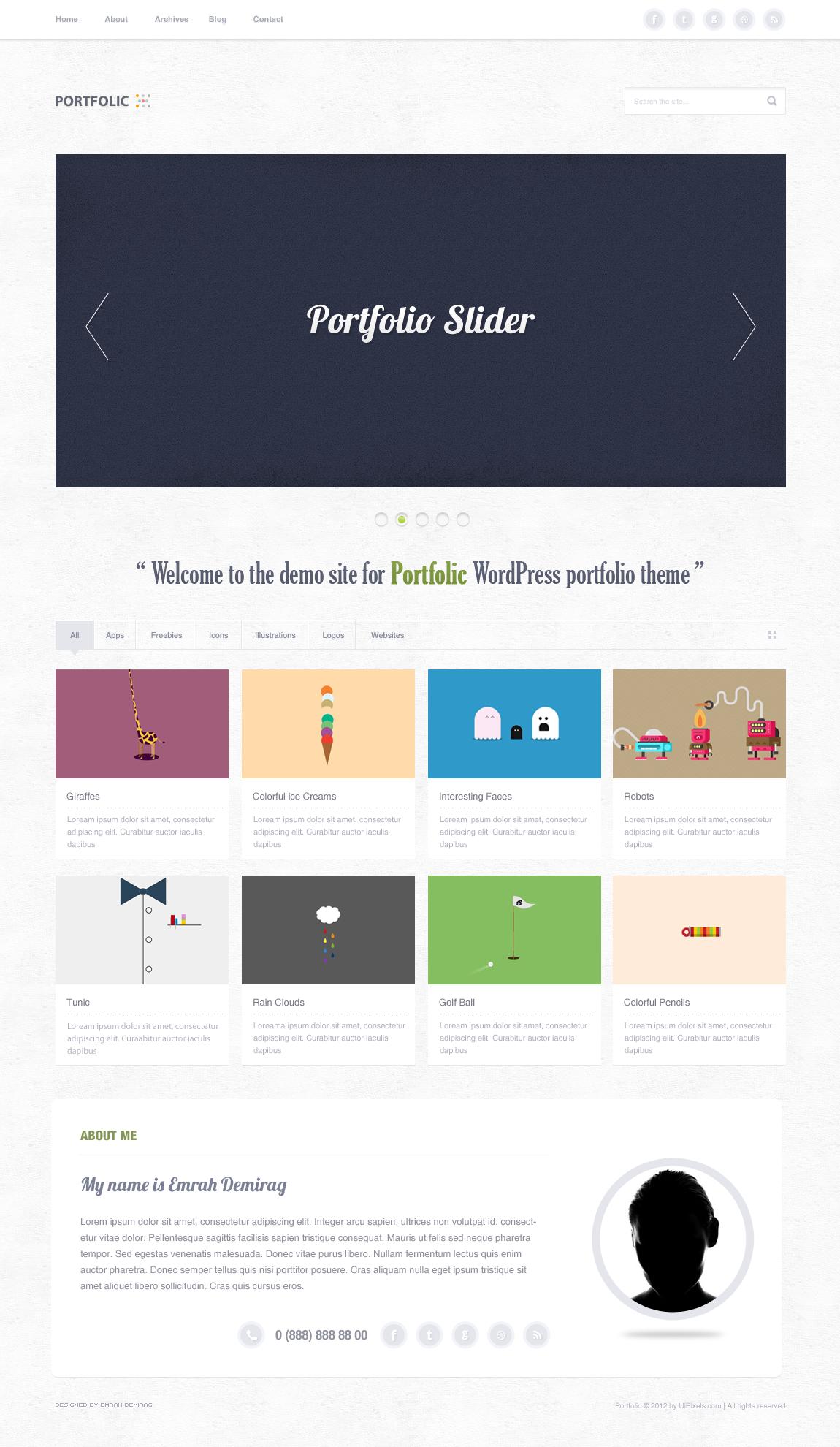 portfolic-portoflio-theme