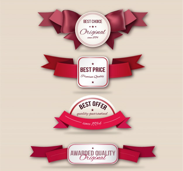 quality-labels-with-ribbons