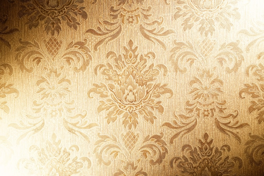wallpaper-fabric-texture-gold-vintage