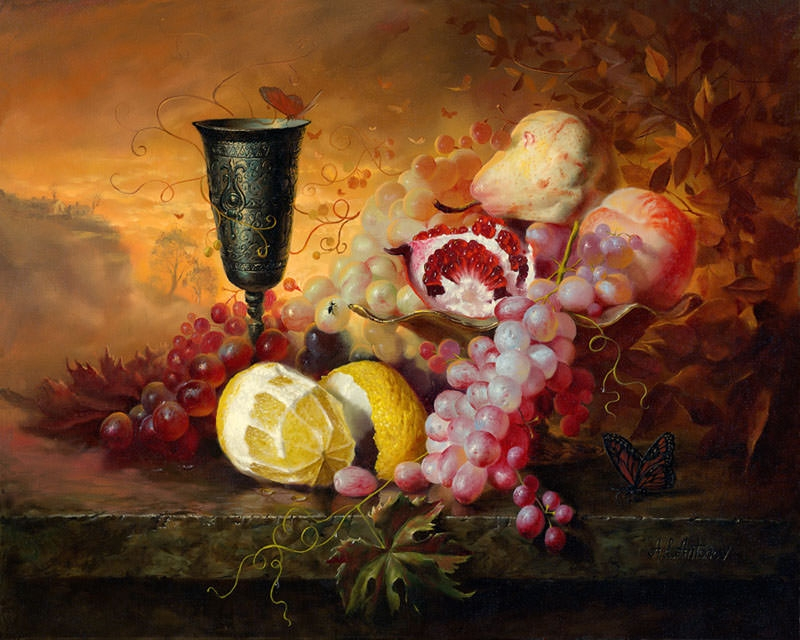 2-oil-painting-flowers-fruits