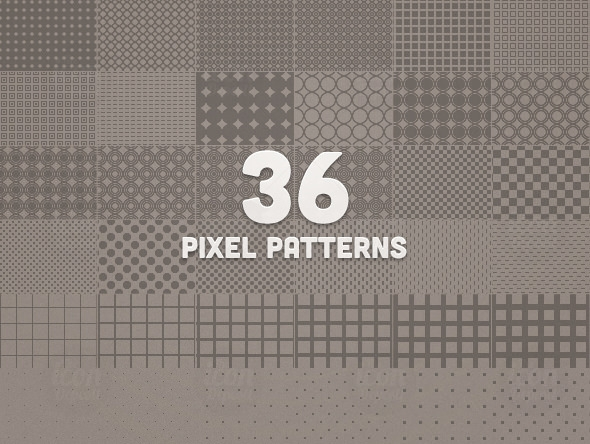 36-Pixel-Patterns-Preview