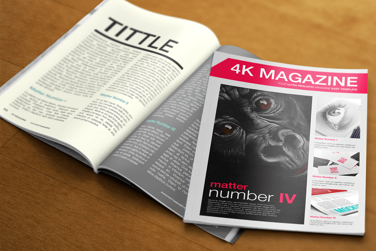 27 Free Psd Magazine Cover Page Designs Templates Free
