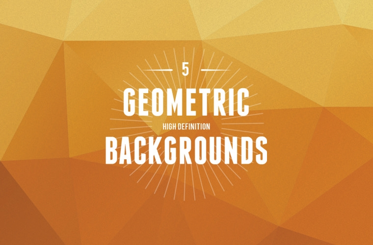 5 geometric high definition backgrounds