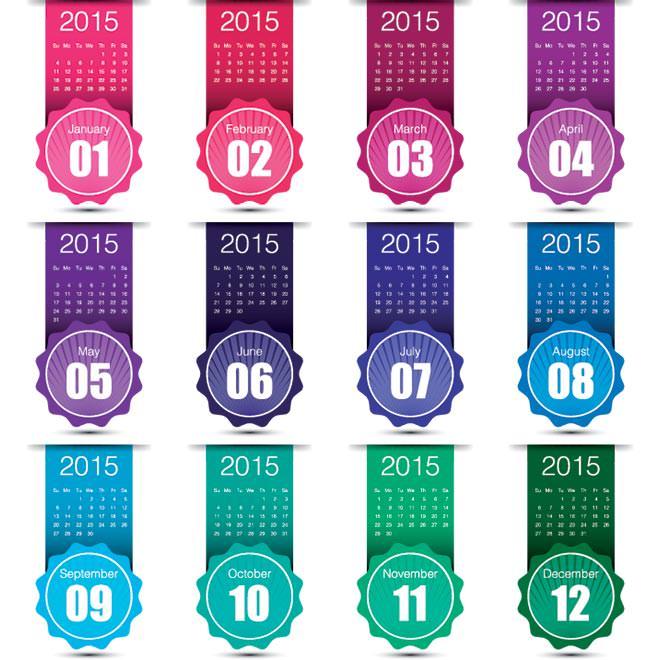 929-Creative-month-label-2015-Vector-Calendar (1)