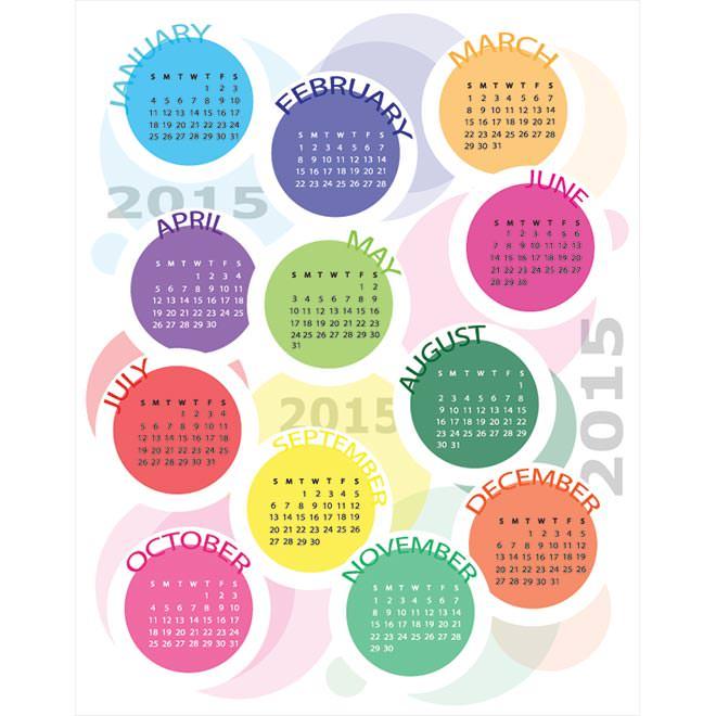 942-circle-block-creative-2015-Vector-Calendar