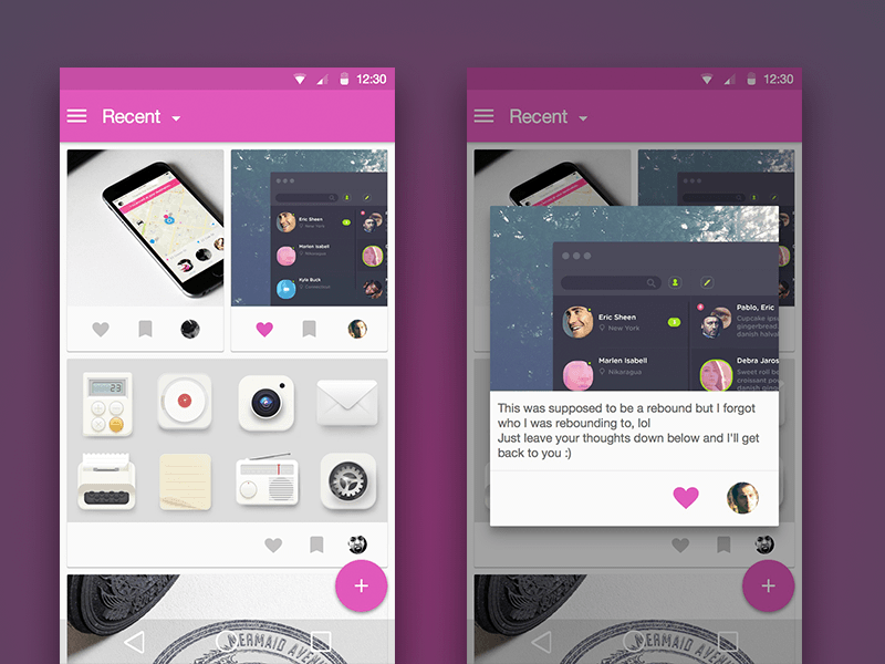 Android_Material_Design_Dribbble_Client