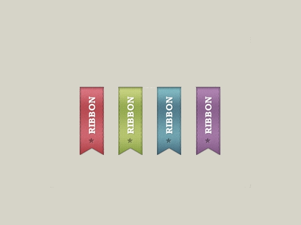Awesome Vector Psd Ribbons free download