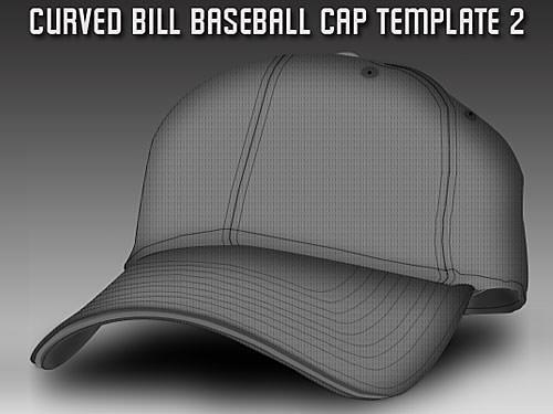 Baseball-Cap-Template-L