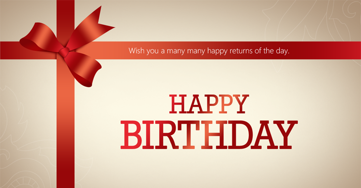 free vector psd birthday celebration greeting cards for, Birthday card