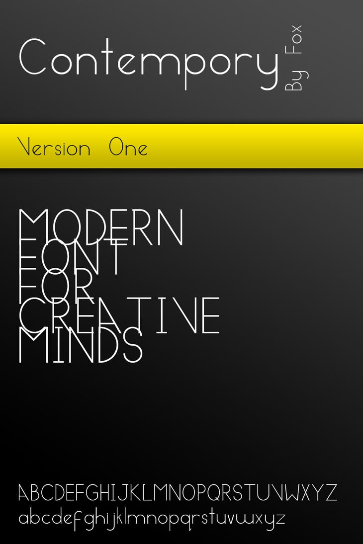 Contempory___Modern_Font_by_MyFox