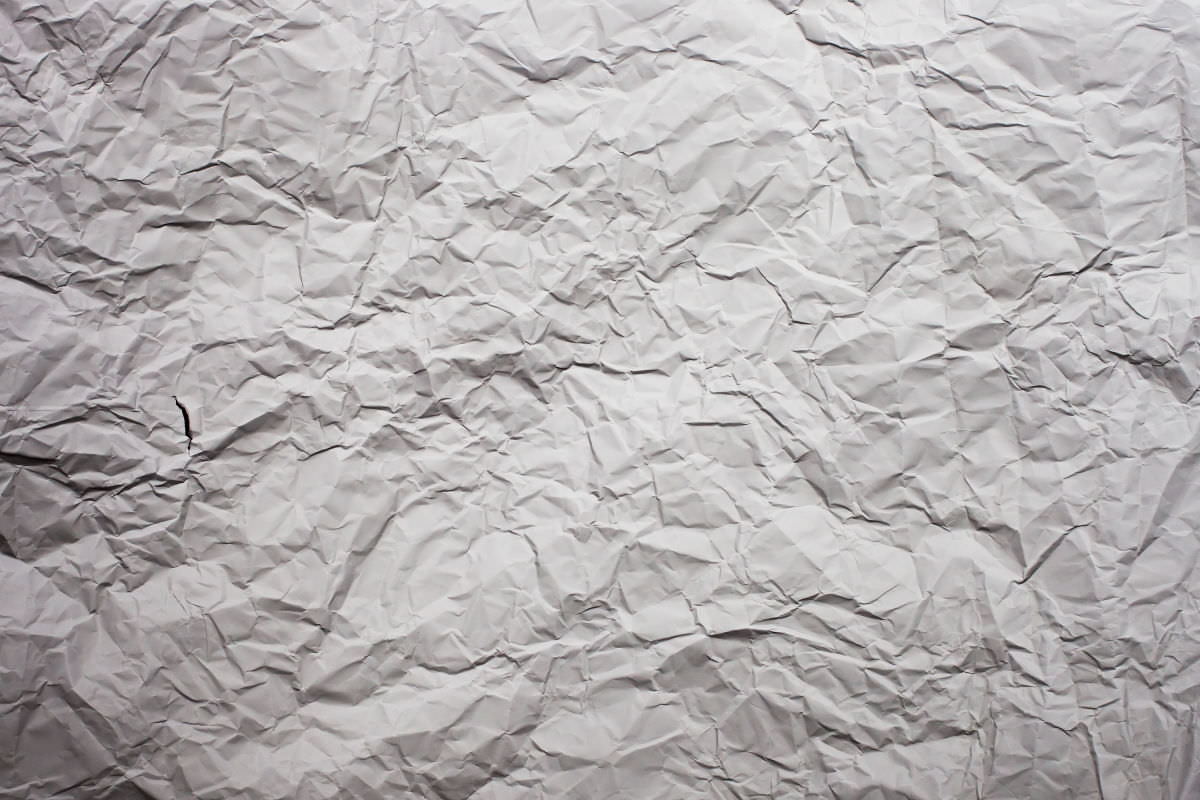 Creased White Paper Textures
