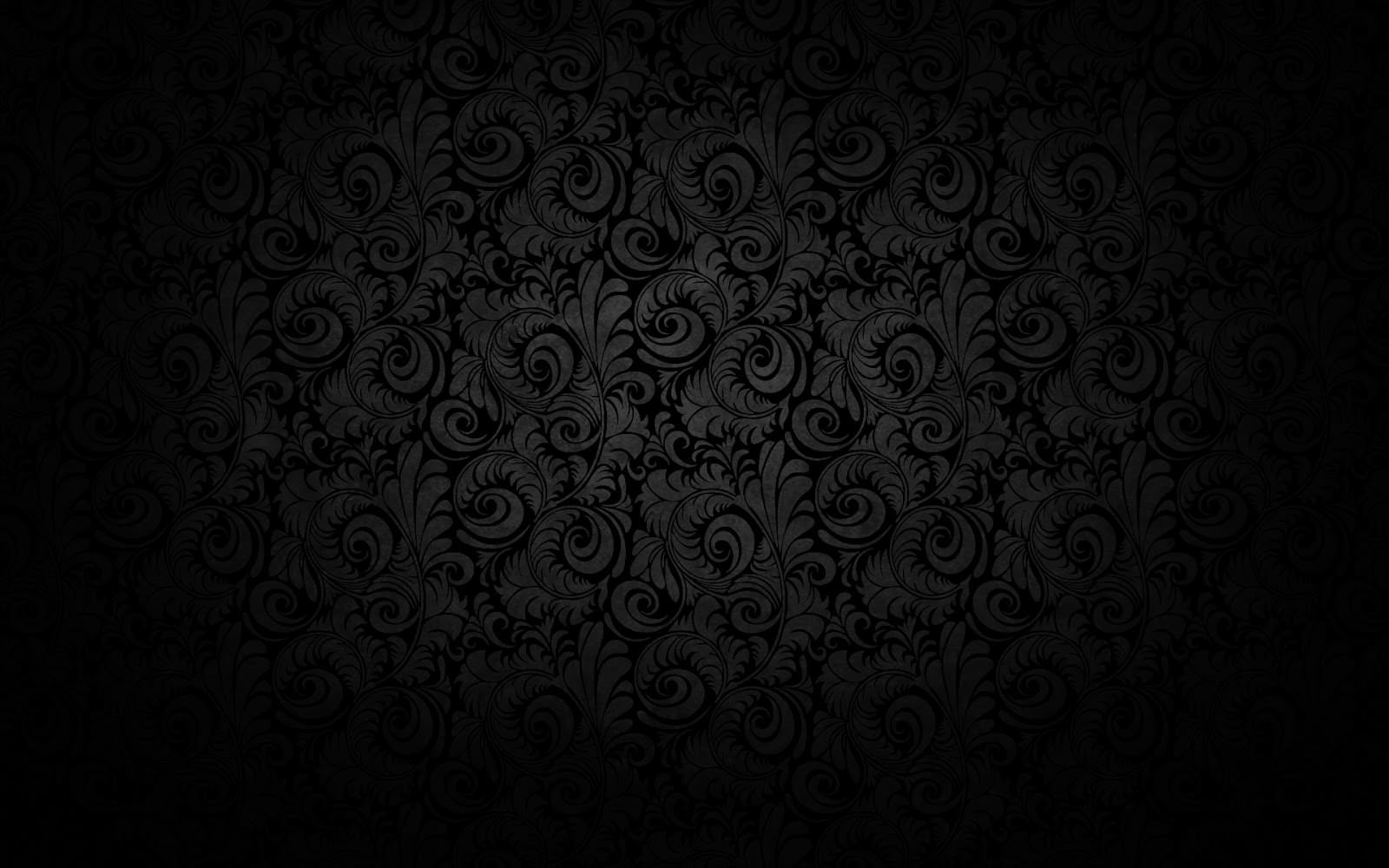 dark background grey floral pattern hd texture image free download