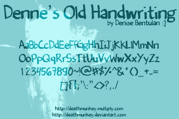 Denne__s_Old_Handwriting_by_deathmunkey