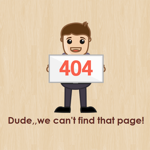 download free 404 error page html template