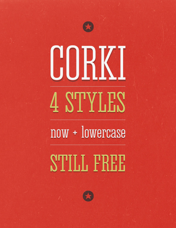Download Free Corki Font Style for Headlines