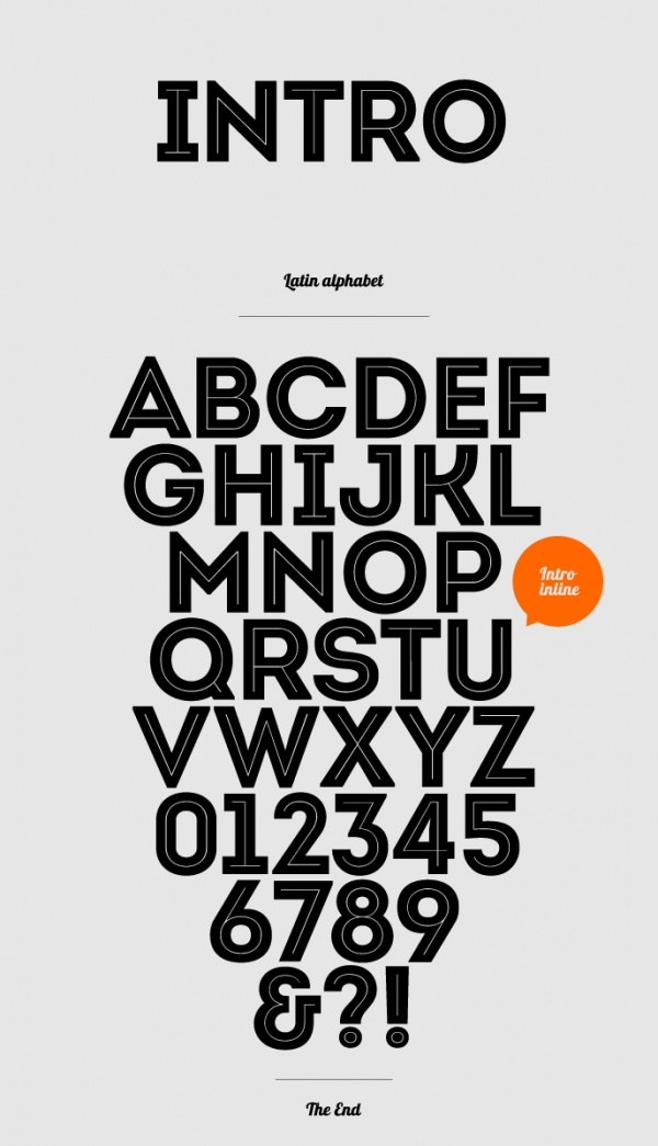 Download Free Intro Font for Logo & Typography