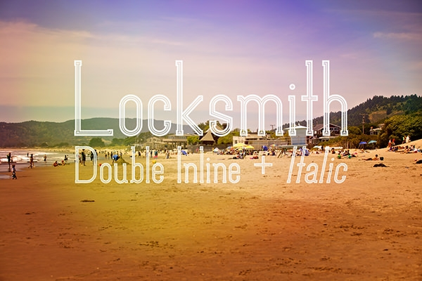 Download Free Locksmith Regular Italic Font for Typography