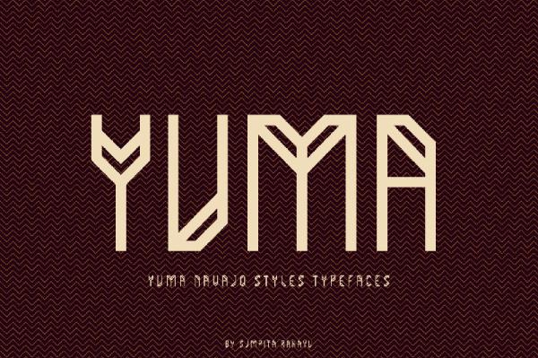 Download Free Yuma Font for Typography & Logo Designing