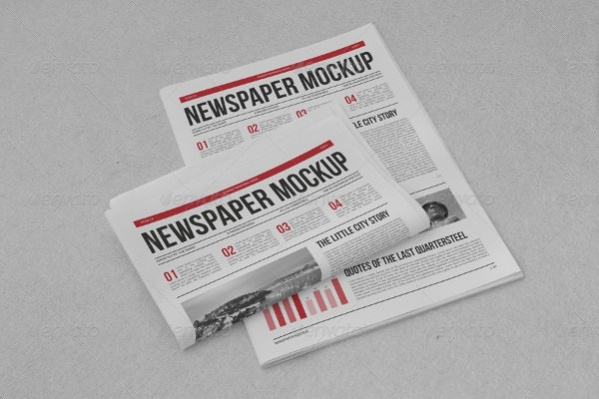 editable newspaper mockup1