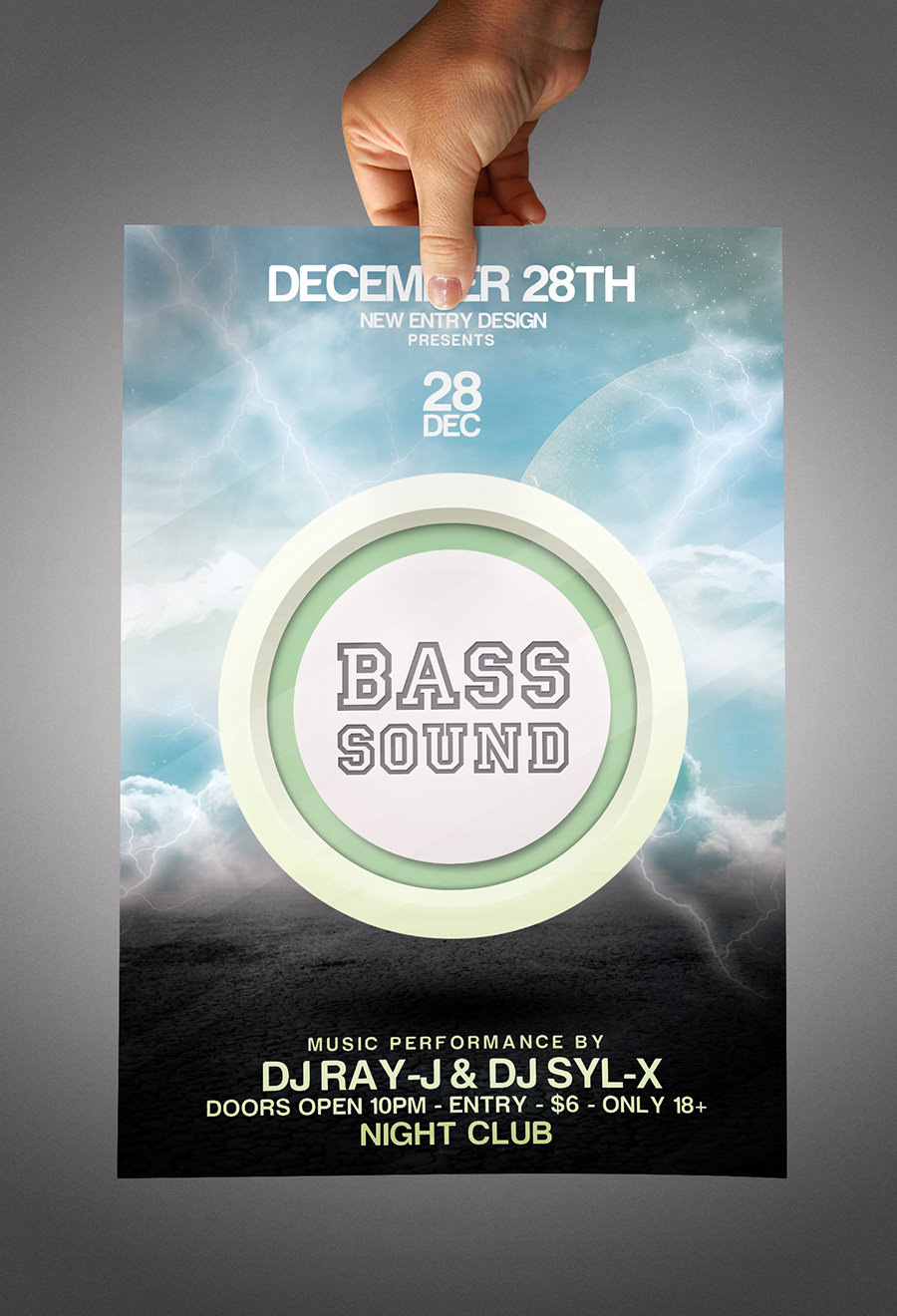 Poster design free download - Download Free Party Flyer Psd