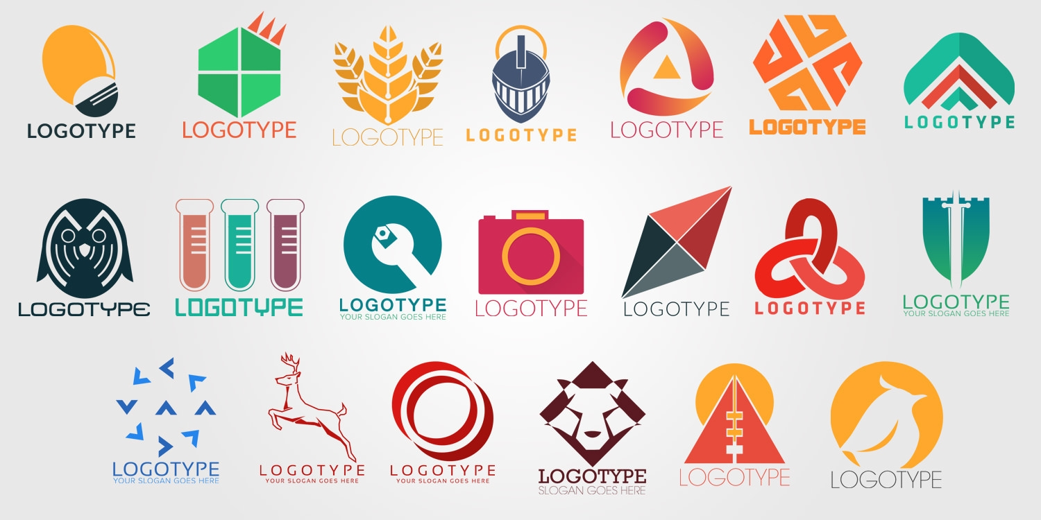 50 free psd company logo designs to download Branding and logo design companies