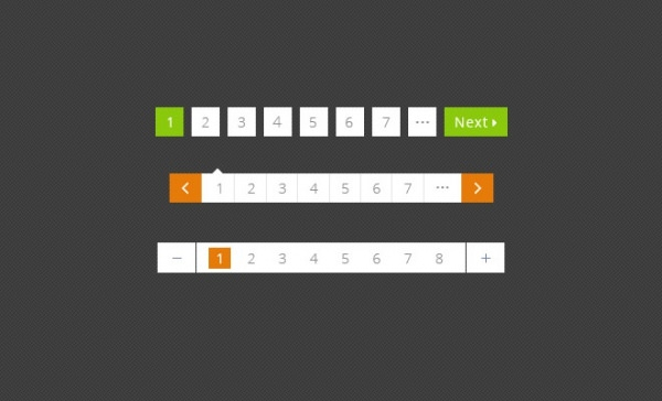 Free Pagination PSD