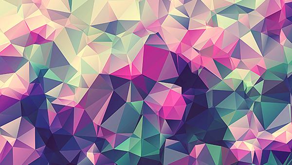 230+ Free High Quality Geometric Polygon Backgrounds ...