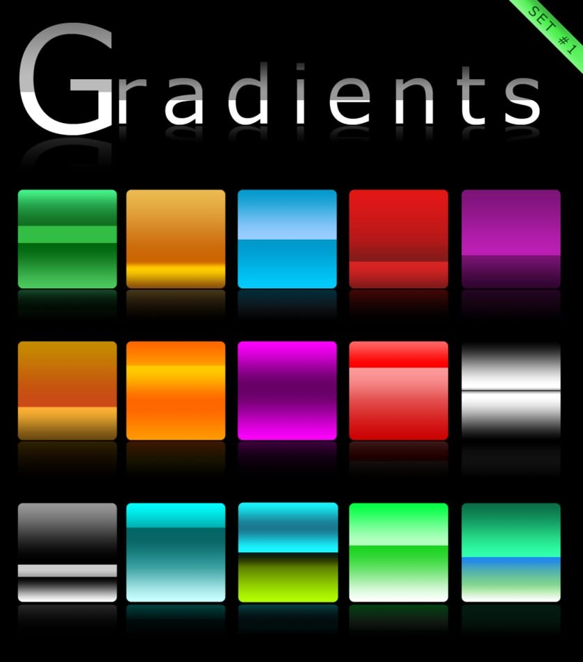 Gradients_set_1_by_Roamn